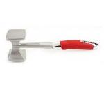 Zeroll 8850-AR Stainless Meat Tenderizer w/ Ergonomic Handle, Apple Red