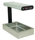 Star Manufacturing HWP2C Portable Heat Wave Warmer w/ Ceramic Elements, Heated Base