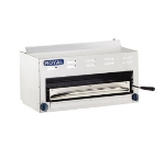 Royal Range RSB-36 LP 36-in Countertop Salamander Broiler w/ 2-Infrared Burners, LP