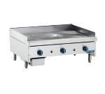 Royal Range RMG-12 LP 12-in Countertop Griddle w/ .75-in Plate & Manual Controls, LP
