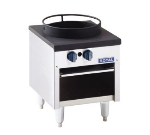 Royal Range RSP-18T NG 18-in Stock Pot Range w/ 1-Burner & Tempura Wok Top, 24-in High, NG