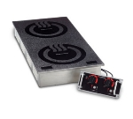 Cook-Tek MCD3502F Drop In Double Hob Induction Range, Front To Back, (2) 3500-Watts