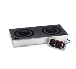 Cook-Tek MCD3502S Drop In Double Hob Induction Range, Side By Side, (2) 3500-Watts