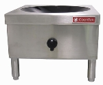 Cook-Tek MWG8000-400L 200-Liter Free Standing Induction Wok Range, 8000-Watts