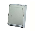 Continental Commercial 991C Wall-Mounted Paper Towel Dispenser, Multi-Fold/C-Fold Towels, Chrome