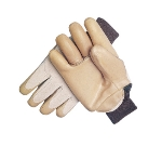San Jamar 20PD Rubber-dipped Deerskin Freezer Glove w/ Thinsulate, One Size
