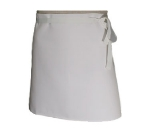 San Jamar 403FW Waist Apron, 4-Way, 30 x 16-in, White