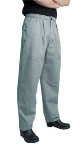 San Jamar P018HT-M Cotton Executive Chef Pants, Medium, Hounds Tooth