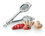 World Cuisine 42598-00 Mushroom Cutter w/ Stainless Cutting Wire & Frame, 3 x 8-1/8-in