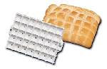 World Cuisine 47041-01 Square Dough Bread Stamp, 5.5 x 4-in, Plastic