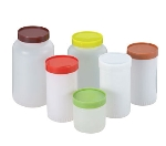 World Cuisine 44107B20 Storage Canister w/ Brown Cap, 2-1/8-qt, Plastic