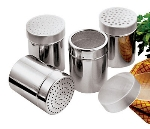 World Cuisine 47023-04 Sugar Dredger w/ Mesh Holes,  1/4-qt, Stainless Steel