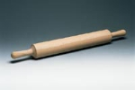 World Cuisine 47038-60 Wood Rolling Pin, 2.75 x 23-5/8-in, 1-piece