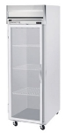 Beverage Air HR1-1G Refrigerator, 1-Glass Full Door, Stainless Front & Aluminum Interior, 24-cu ft