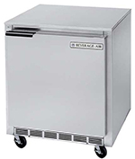 Beverage Air UCF27A-28 27-in Undercounter Freezer, 7.3-cu ft, Stainless Exterior & Back