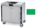 Lakeside 2060 GRN 35.5-in High Mobile Cooking Cart w/Induction Heat Stove, Green