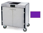 Lakeside 2060 PURP 35.5-in High Mobile Cooking Cart w/Induction Heat Stove, Purple