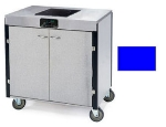 Lakeside 2060 ROYBL 35.5-in High Mobile Cooking Cart w/Induction Stove, Royal Blue