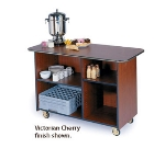 Lakeside 68100 57.5-in Wood Composite Enclosed Service Cart w/ 2-Compartments