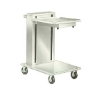 Lakeside 820 Mobile Cantilever Tray Dispenser w/ Self-Leveling, 20 x 20-in Trays