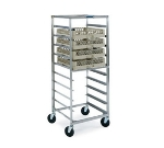 Lakeside 198 Glass Cup Rack Transport Cart w/ Angle Glides, (10) Full-Size