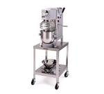 Lakeside 715 Open Machine Stand w/ (2) Shelves, 20 x 24 x 21-3/16-in, Stainless