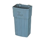 Lakeside 206 Jumbo Plastic Waste Basket, Gray