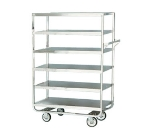 Lakeside 748 Utility Cart w/ (6) 21 x 33-in Shelves, Handle, 700-lb
