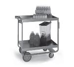 Lakeside 727 Heavy Duty Utility Cart w/ (2) 21 x 33-in Shelves, 700-lb