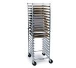 Lakeside 8567 Full Height Narrow Sheet Pan Tray Rack w/ Angle Ledge, 20-Trays