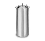 Lakeside 913 7.5-in Drop-in Tubular Dish Dispenser w/ Self-Leveling, Stainless