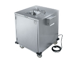 Lakeside 9600 Mobile Hand Cold Wash Station w/ Faucet & Lock, 5-Gallon Capacity