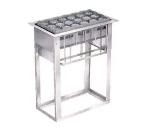 Lakeside 973 Drop-In Cup & Glass Rack Dispenser w/ Self-Leveling, 6-Racks