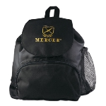 Mercer Cutlery M30428 Bookbag Backpack w/ Front Zip & Side Mesh Pockets, 12 x 14 x 4.5-in