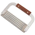 Browne Foodservice 923P Garnish/Serrator, 7 x 2 in, Stainless Steel Corrugated Blade