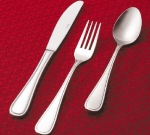 Browne Foodservice 502405 Concerto European Fork, 18/10 Stainless Steel