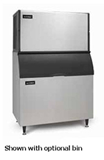 Ice-O-Matic ICE1406HA Ice Maker, Half Cube, 1469-lb/24-Hr, Air Cooled, 208-230/1 V
