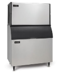 Ice-O-Matic ICE2106HWB100PS Ice Maker w/ 854-lb Bin, Half Cube, 1856-lb/24-Hr, Water Cooled