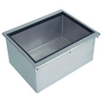 Supreme Metal D-24-IBL-7 Drop-In Ice Bin w/ Cold Plate,18 in x 21 in x 10 in