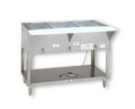 Supreme Metal HF-5E-208/240 34-in Hot Food Table w/ 5-Wells, Open Stainless Base w/ Undershelf