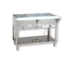 Supreme Metal HF-4E-208/240-SS 34-in Hot Food Table w/ 4-Wells, Open Base w/ Undershelf, 208/240 V
