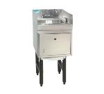 Supreme Metal SC-12-TS-S 12-in Modular Workboard Hand Sink Unit w/ Soap & Towel Dispenser