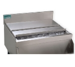 Supreme Metal SSC-47 Ice Bin Sliding Cover For 48-in Unit, Stainless