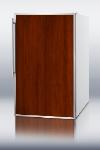 Summit Refrigeration CM405FR Refrigerator Freezer w/ 2-Piece Door Frame, 4.1-cu ft, White