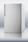 Summit Refrigeration FF511LBISSHVADA Built In Refrigerator, Lock, Thin Handle, Stainless/White, 4.5-cu ft