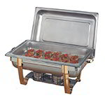 American Metalcraft ALLEGRT10 Full Size Chafer, 9-qt, Stainless w/ Gold Accents