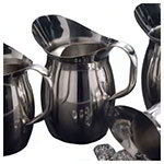 American Metalcraft BPG101 Bell Pitcher, 100 oz., Stainless Steel, With Ice Guard