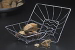 American Metalcraft BSKT8 Space/Time Continum Basket, Chrome Finish