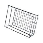 American Metalcraft RMB59C Basket, 9 in L x 6 in W x 2-1/2 in H, Rectangle, Grid Bottom, Chrome