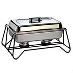 American Metalcraft SCF2 Chafer Stackable Frame, Wrought Iron, Chafer Not Included